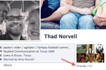 Look how popular the facebook lets me pretend to be!